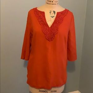 East 5th Embroidered Tunic Top